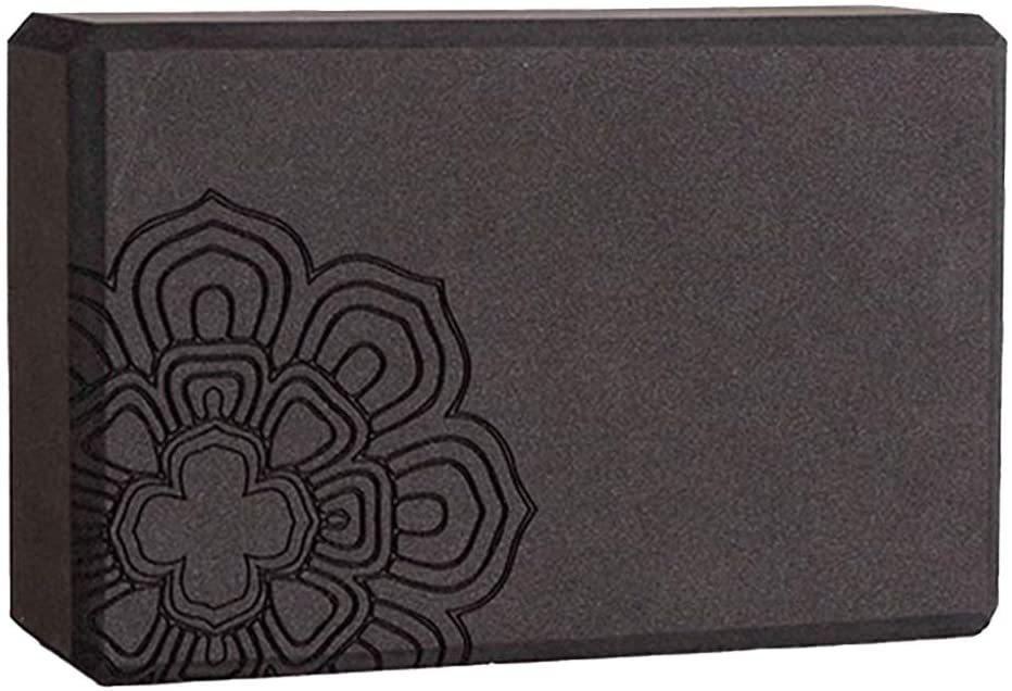CWM 1-2PCS Yoga Blocak and High Density EVA Foam Yoga Brick to Support and Deepen Poses
