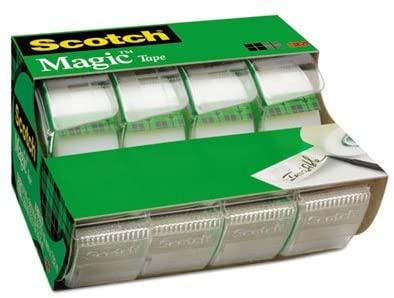 Magic Tape in Handheld Dispenser, 3/4