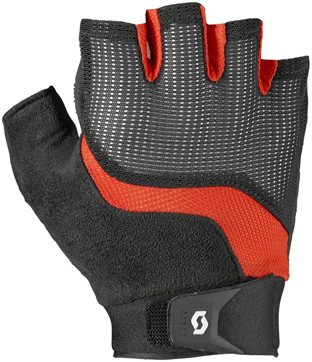 Scott Essential SF Glove - Men's Black/Fiery Red, XS