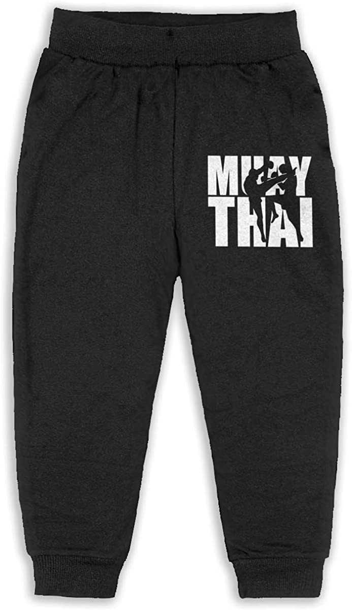 EASON-G Kid's Joggers Muay Thai Fashion Sweatpants 2T - 6T