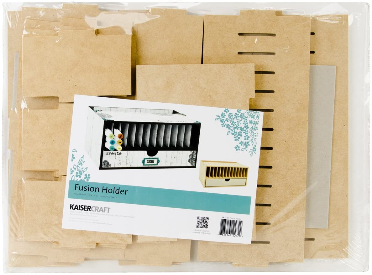 Kaisercraft SB2272 Beyond The Page MDF Marker and Pen Holder, 10.25 by 5.25 by 7.75-Inch