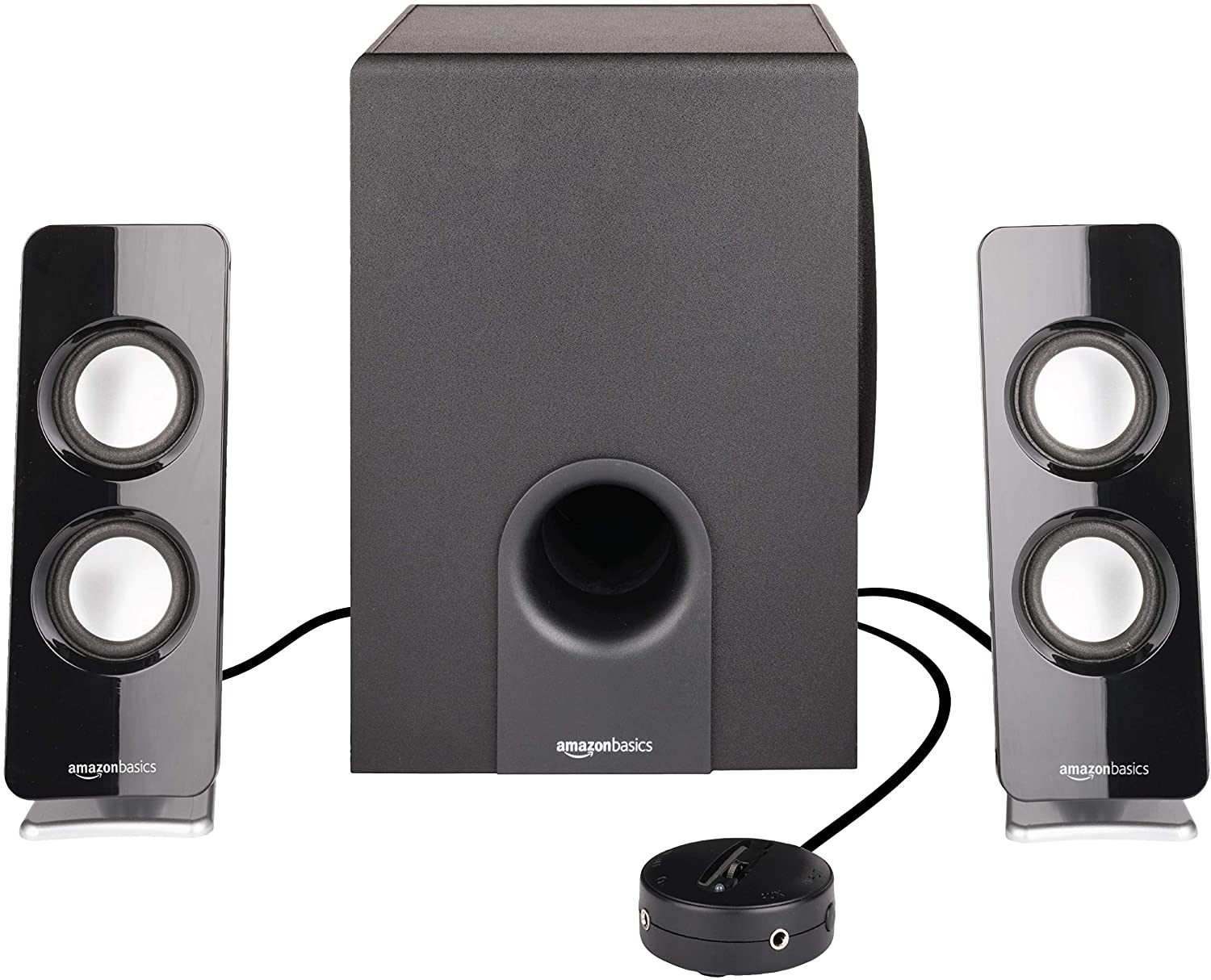 DHgateBasics AC Powered 2.1 30W Bluetooth Computer Speakers with Subwoofer