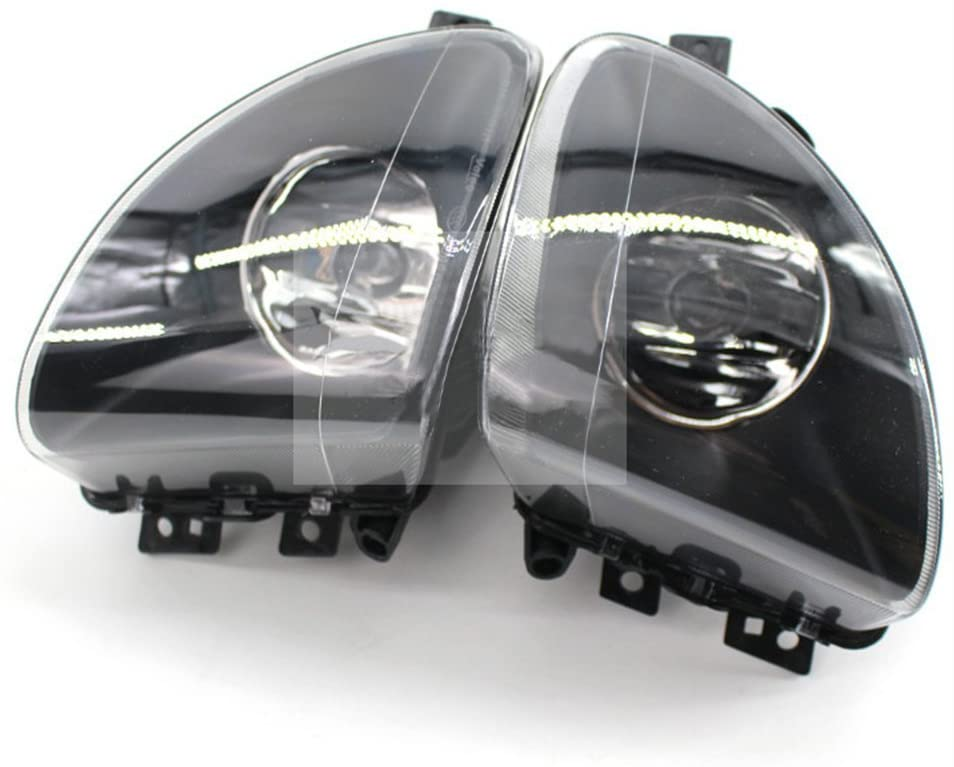 For BMW F10 F18 5 Series 2011 2012 2013 Auto Fog Lamp Car Front Bumper Grille Driving Fog Lights(A Pair)