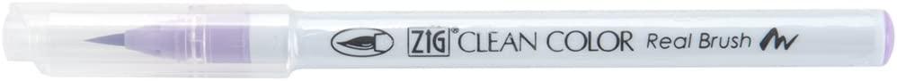 Zig Clean Color Real Brush Marker, Light Violet