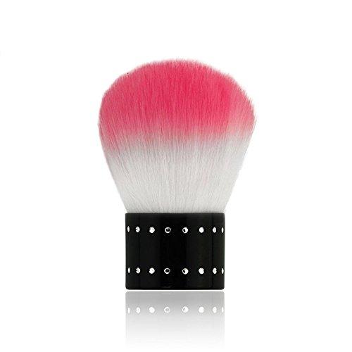 KADS Soft Nail Dust Brush Manicure Tool Cosmetic Brush For Nail Art For Powder Nail Dust Brush For Nail Art Design
