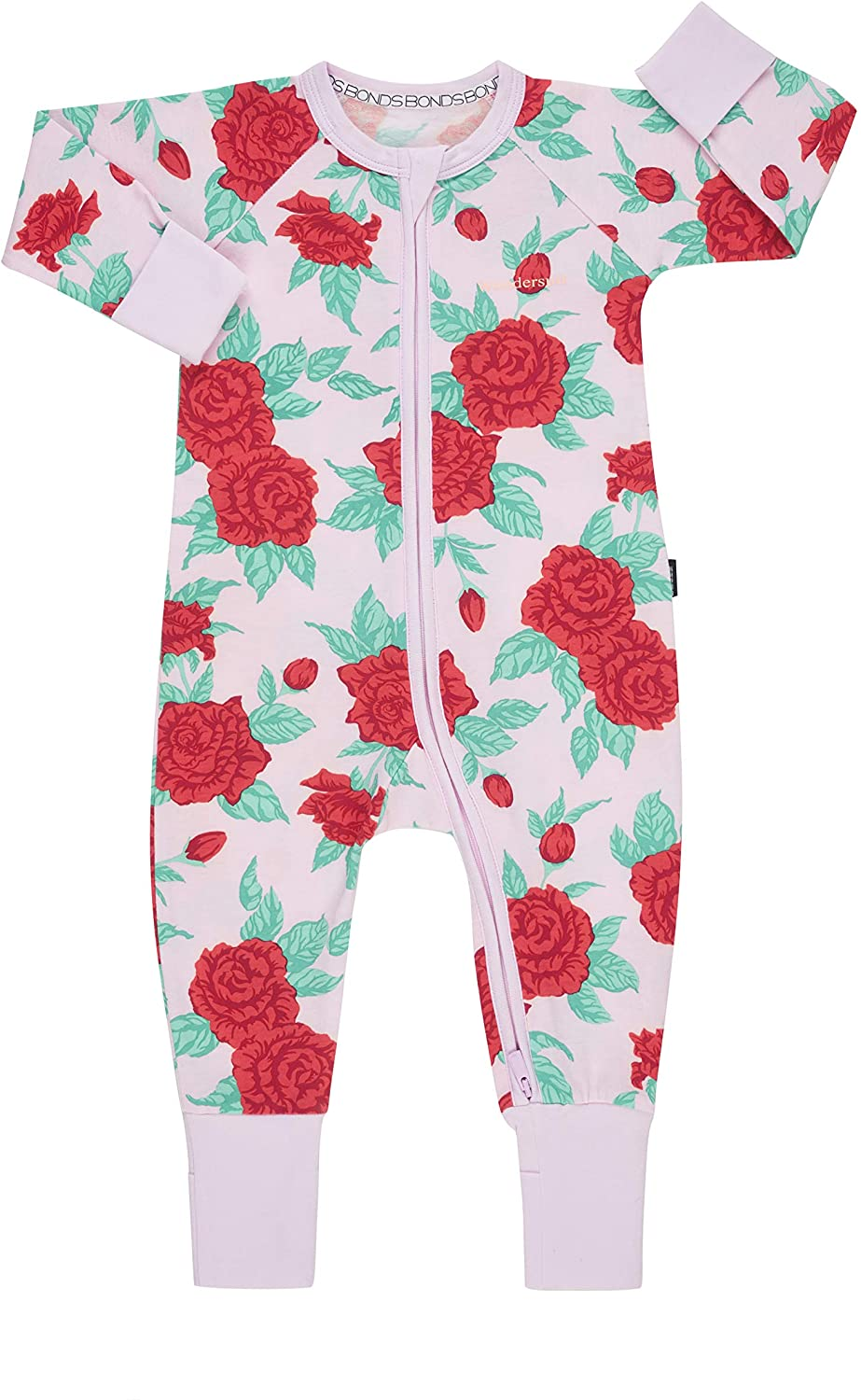 Bonds Zip Wondersuit - Rose Garden Pink