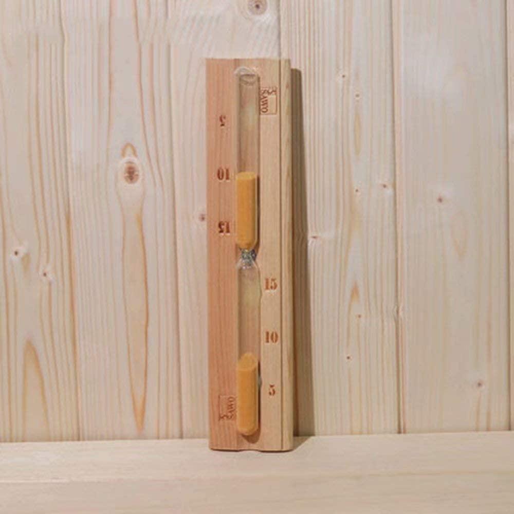HSTFⓇ Hourglass Sauna Wooden Timer Timer Hourglass 15 Minutes Wooden Hourglass