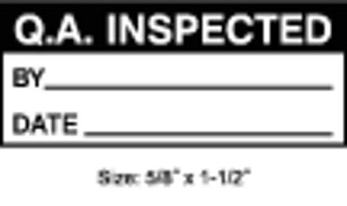 Inspection Label, English, Quality, PK350