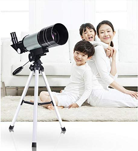 WUAZ Telescope for Beginners Kids 70mm Refractor Telescope with 10mm Smartphone Adapter and Tripod,Child's Gift