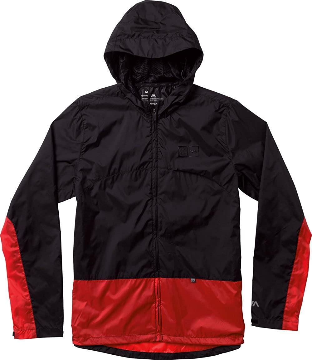 RVCA VA Sport BJ Penn Block Jacket - Black/Red - 2XL - surf Skate MMA BJJ