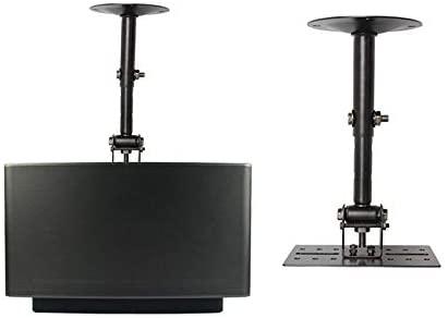 (1Pair) Professional Tilting Speaker Bracket Ceiling Mount Speaker Hanger Wall Mount Holder Speaker Stand