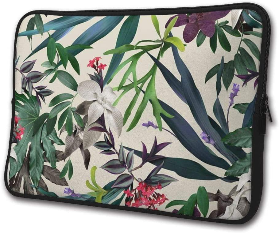 Nice Tropical-Print Handbag Case Cover Laptop Sleeve Computer Bag