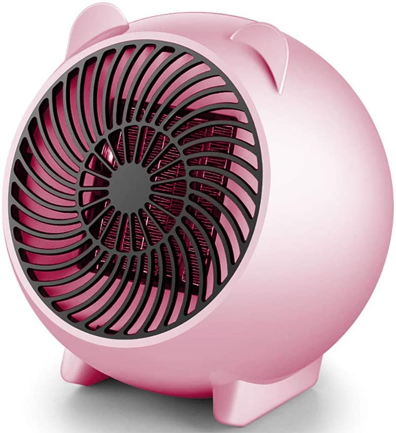 FFEENG Space Vortex Heater with Air Circulator Fan, Intelligent Temperature Control, Auto Tip-Over Shut Off, for All Seasons & Whole Room