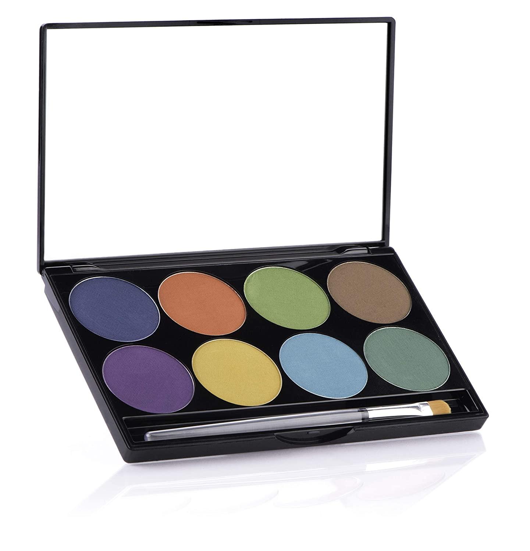 Mehron Makeup iNtense Pro Pressed Pigment Palette (Wind)