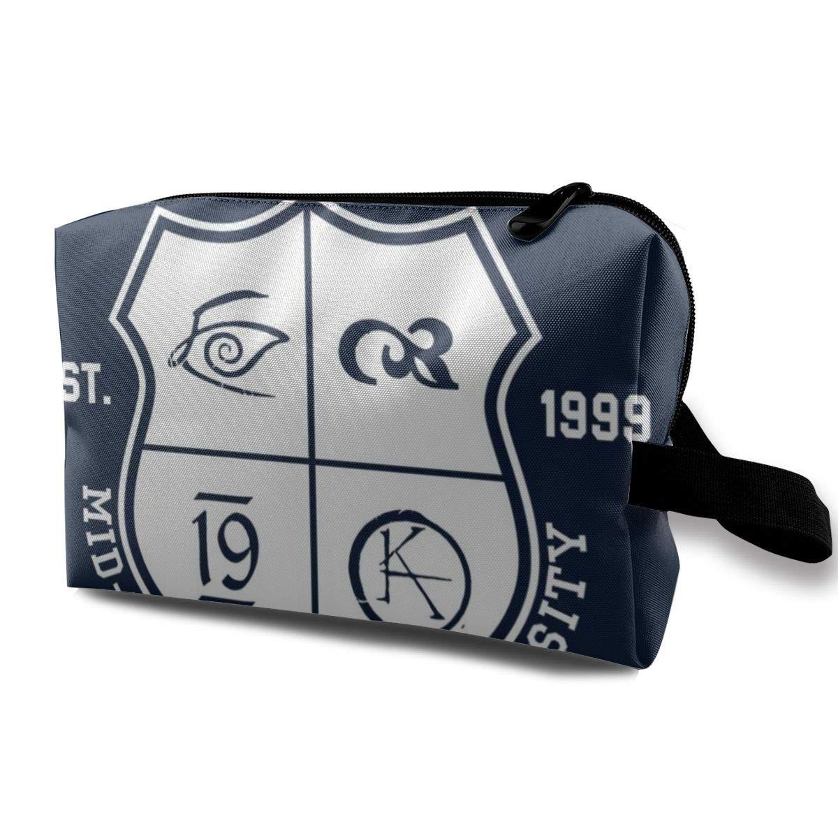 Makeup Bag Cosmetic Pouch Gunslinger Mid World Dark Tower Multi-Functional Bag Travel Kit Storage Bag