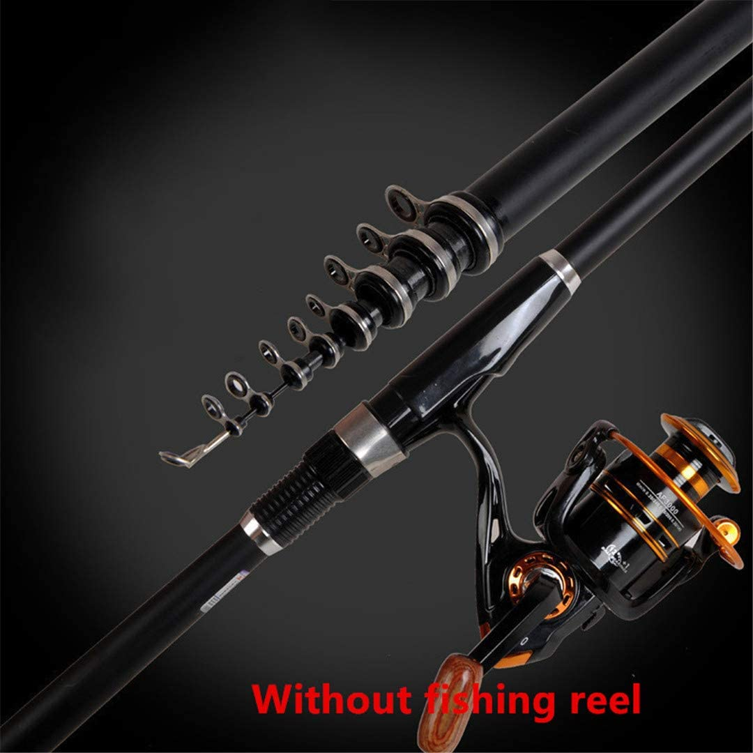 Mulitnseon Superhard Portable 2.4M 3.0M 3.6M 4.5M 5.4M 6.3M 7.2M Carbon Telescopic Fishing Rod Sea Rods Fishing Rod Spinning Fishing Pole