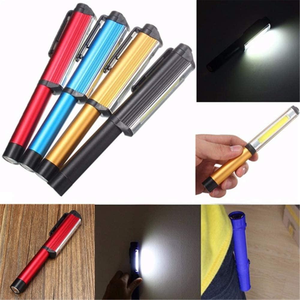 Takefuns 3W LED COB Pocket Pen Clip Light Work Inspection Lamp Magnetic Torch Flashlight