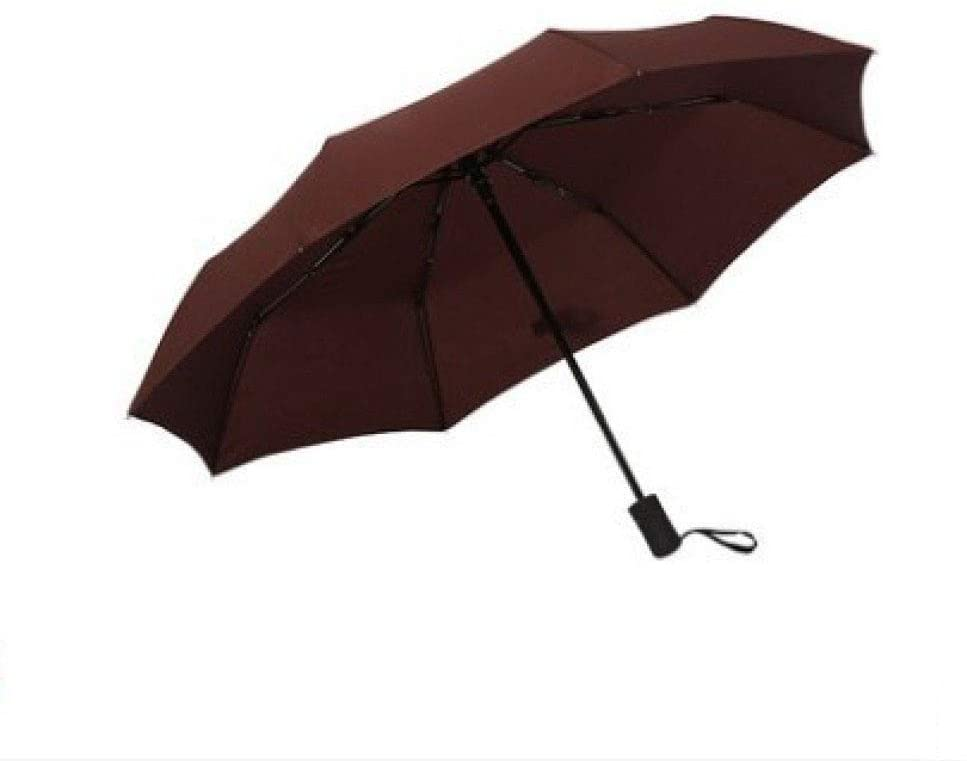 MGZDH Umbrella Windproof Folding, Automatic Umbrella Windproof Strong Reinforced 6 Ribs Fast Drying Folding Waterproof Umbrella for Business, Travel,Work