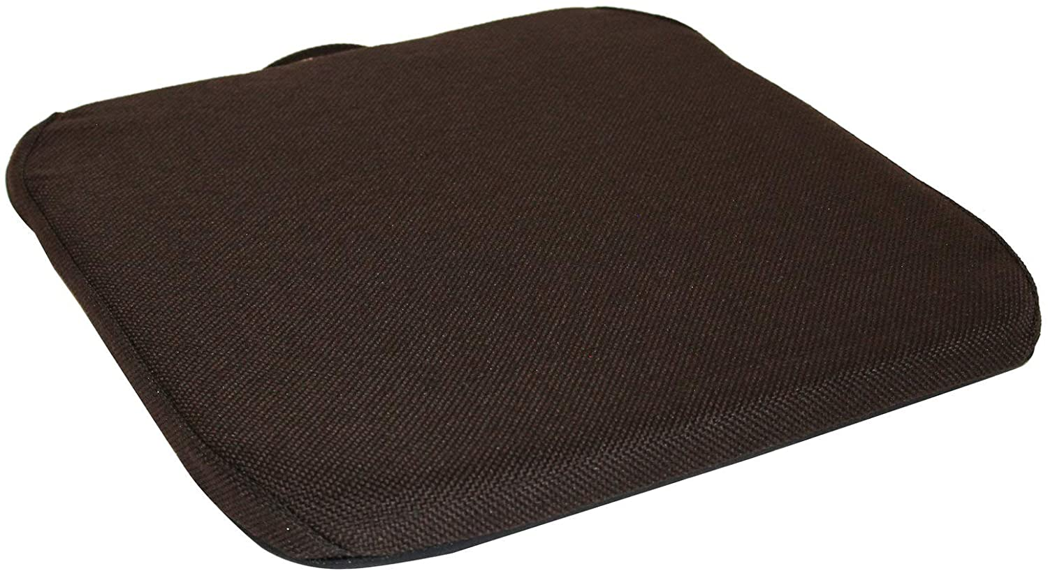 Q QUALITY BRAND COMPANY McCarty's Q-RSCCF-BRN 14 in. Wide Memory Foam Sacro-Ease Bottom Seat Cushion Support 1x14x16 in. Brown Color