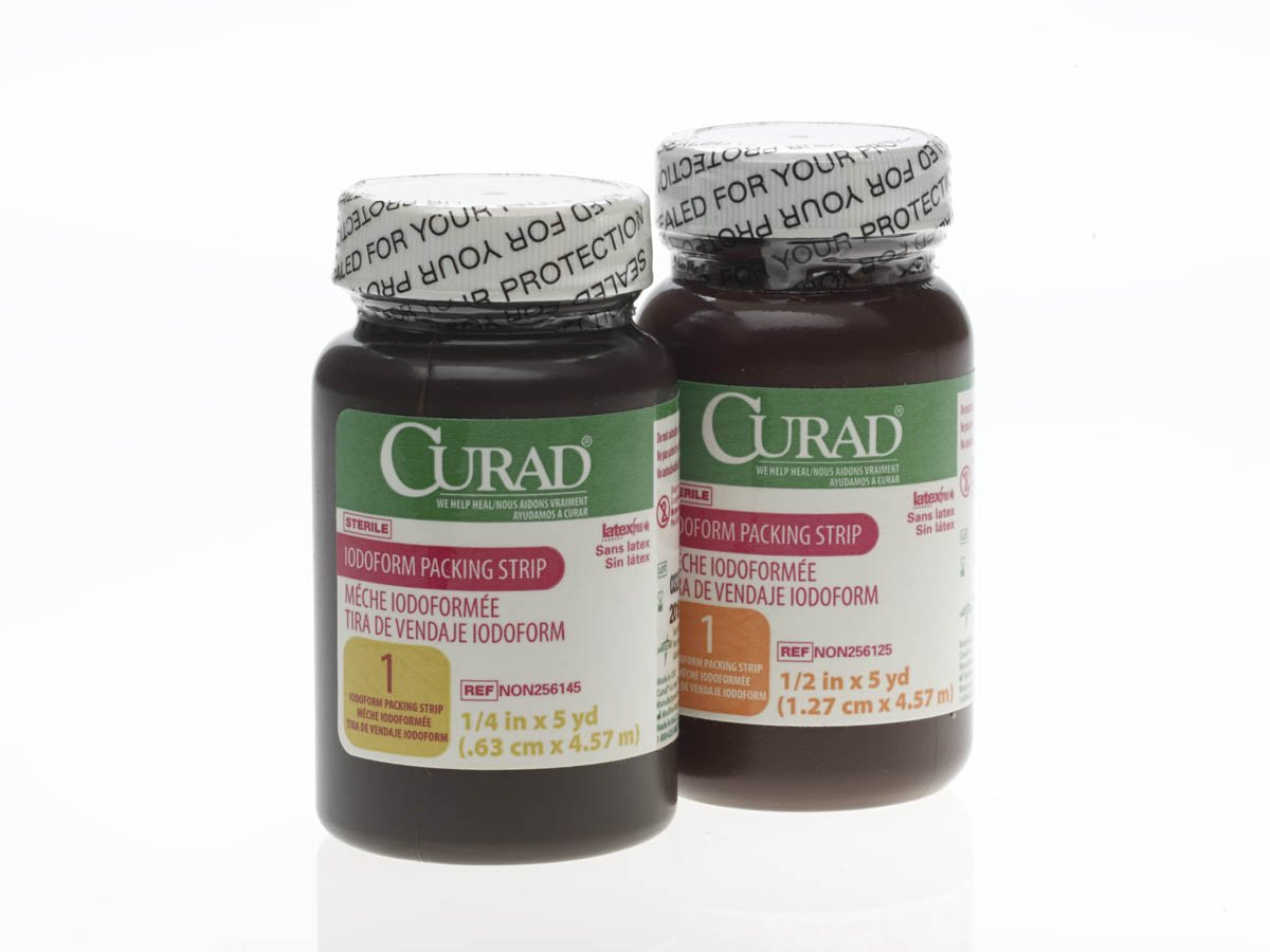 CURAD Sterile Iodoform Packing Strips, Gauze,Packing Strip,Iodoform,1
