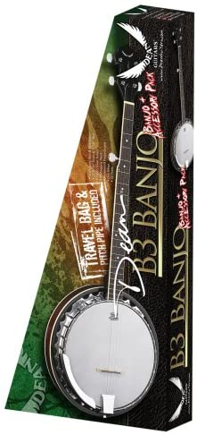 Dean Banjo Pack with Gig Bag, Strap and Pitch Pipe