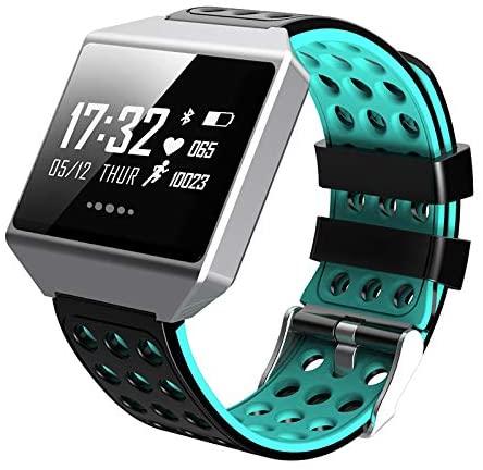 WANGDD Smart Bracelet Color Screen Heart Rate Blood Pressure Waterproof Step Counter Information Push Domineering Bluetooth Gift Bracelet