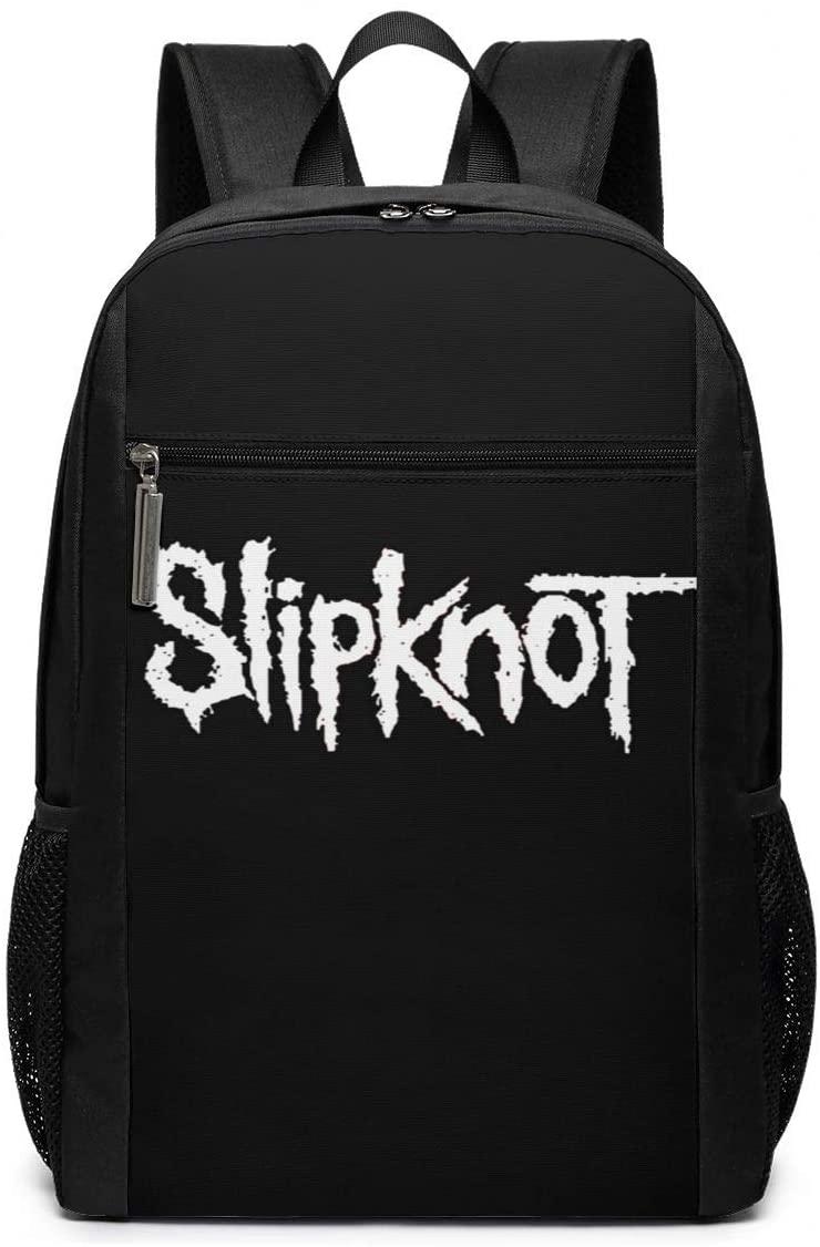 Slipknot Logo 17 Inch School Bags College Book Large Laptop Backpack For Men Women Teens
