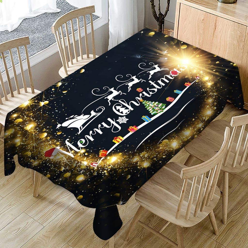 Fineday Christmas Tablecloth/Chair Cover Digital Printing Christmas Table Decoration, Home Products HotSales, for Halloween Day (C
