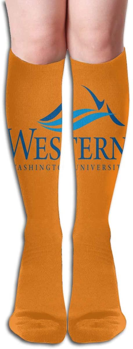 Wwu Men's/Women's Comfortable Casual Funny Long Knee High Socks Compression Socks Winter Warm Soccer Socks