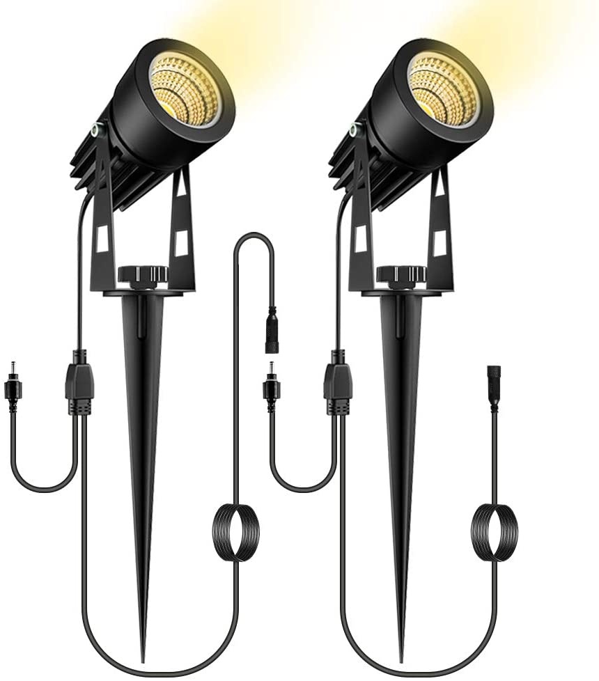 ALOVECO 2 Pack Landscape Lamps for Daisy Chain LED Landscape Lights