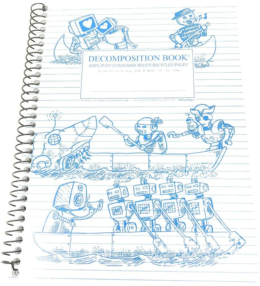 Michael Roger, Notebook Rowbots