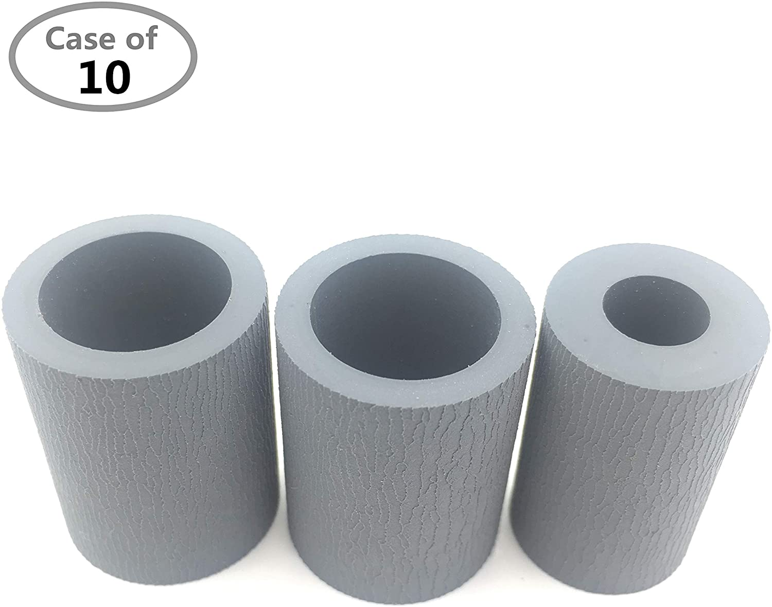 Case of 10 Packs,OKLILI 43895001 44384701 43000601 Frame Assy Retard Separation Feed Pickup Roller Tire Compatible with Okidata B410 B420 B430 B431 B440 B721 B731 B760 C610 C710 C711 C712 C822 C823