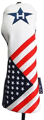 USA Patriot Golf Limited Edition Vintage Retro Patriotic #5 Rescue Hybrid Headcover Head Cover