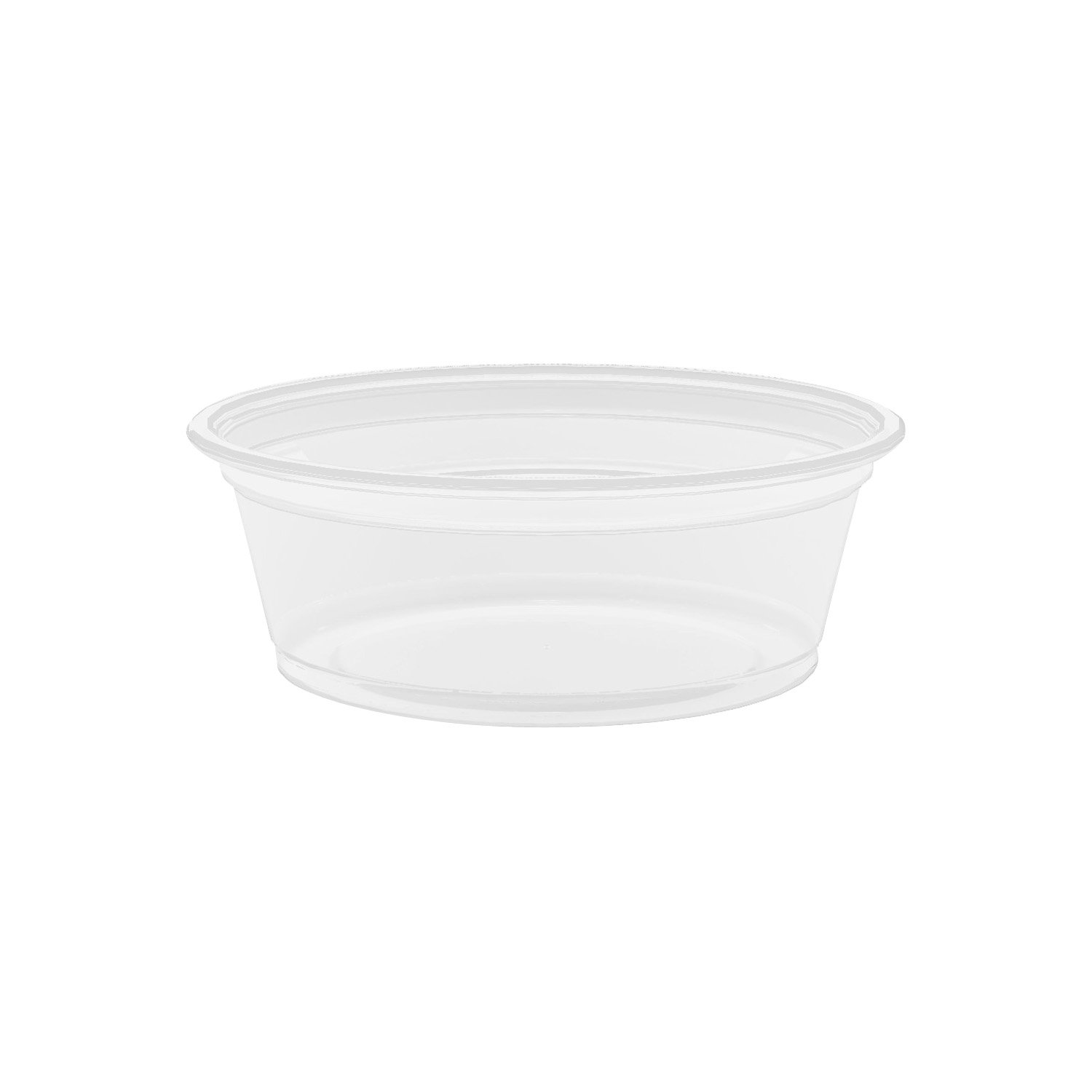 Dart 150PC 1 .5 oz Clear PP Portion Container (Case of 2500)