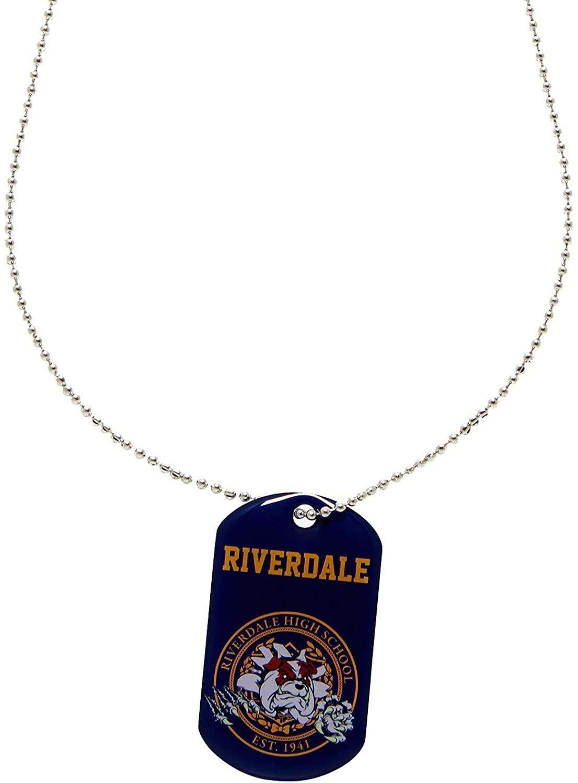 Spirit Riverdale Mascot Dog Tag Necklace