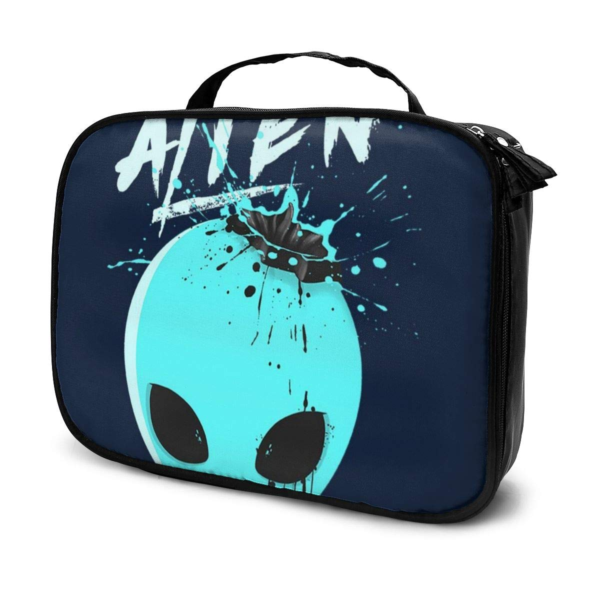 Multi-Functional Bag With Compartments Alien Splash Head Professional Cosmetic Pouch Travel Kit Makeup Boxes Makeup Bag