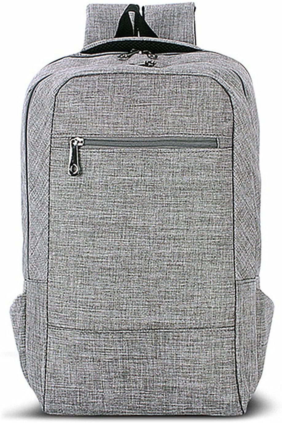 Laptop Backpack,Tincon-Z 15 15.6 Inch College Backpacks Lightweight Travel Daypack - Grey (Grey)