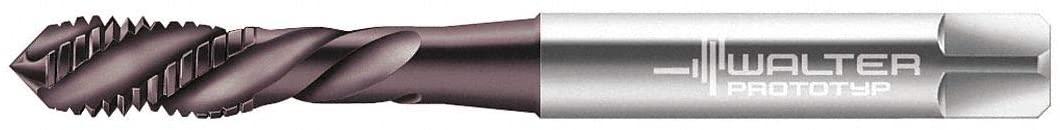 M10-1.50, Tap, Left Hand, Plug, 3 Flutes, High Speed Steel, Hard Lube Tap Finish