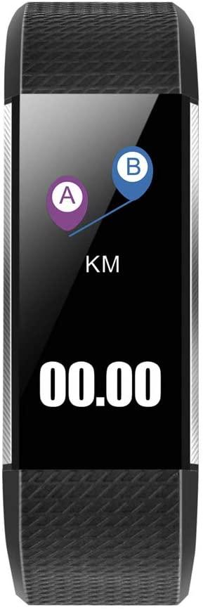 M200 Color Screen Bluetooth 4.0 Waterproof and Dust Proof IP67 Smart Bracelet Black