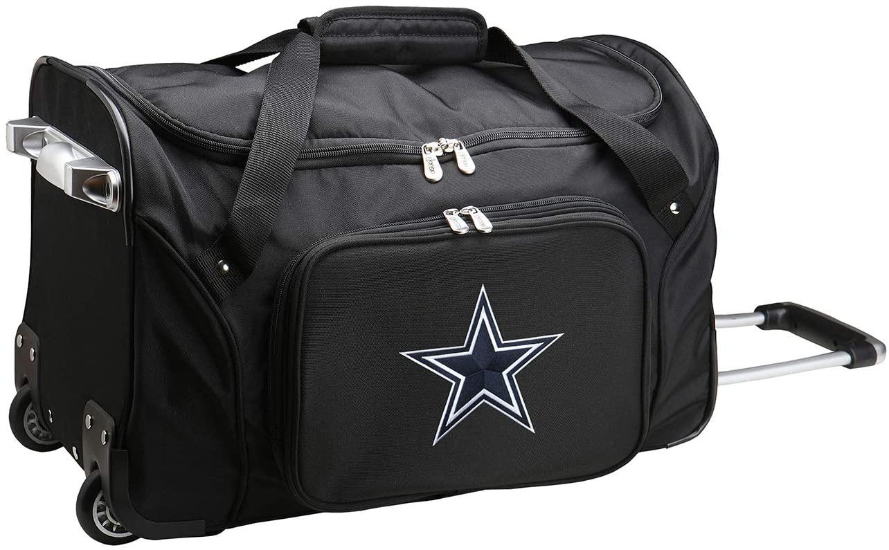 NFL Wheeled Duffel Bag, 22-inches