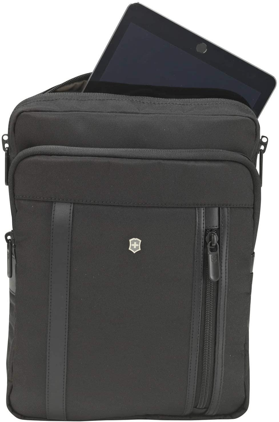 Victorinox Werks Professional 2.0 Crossbody Laptop Bag, Black, 12.6-inch