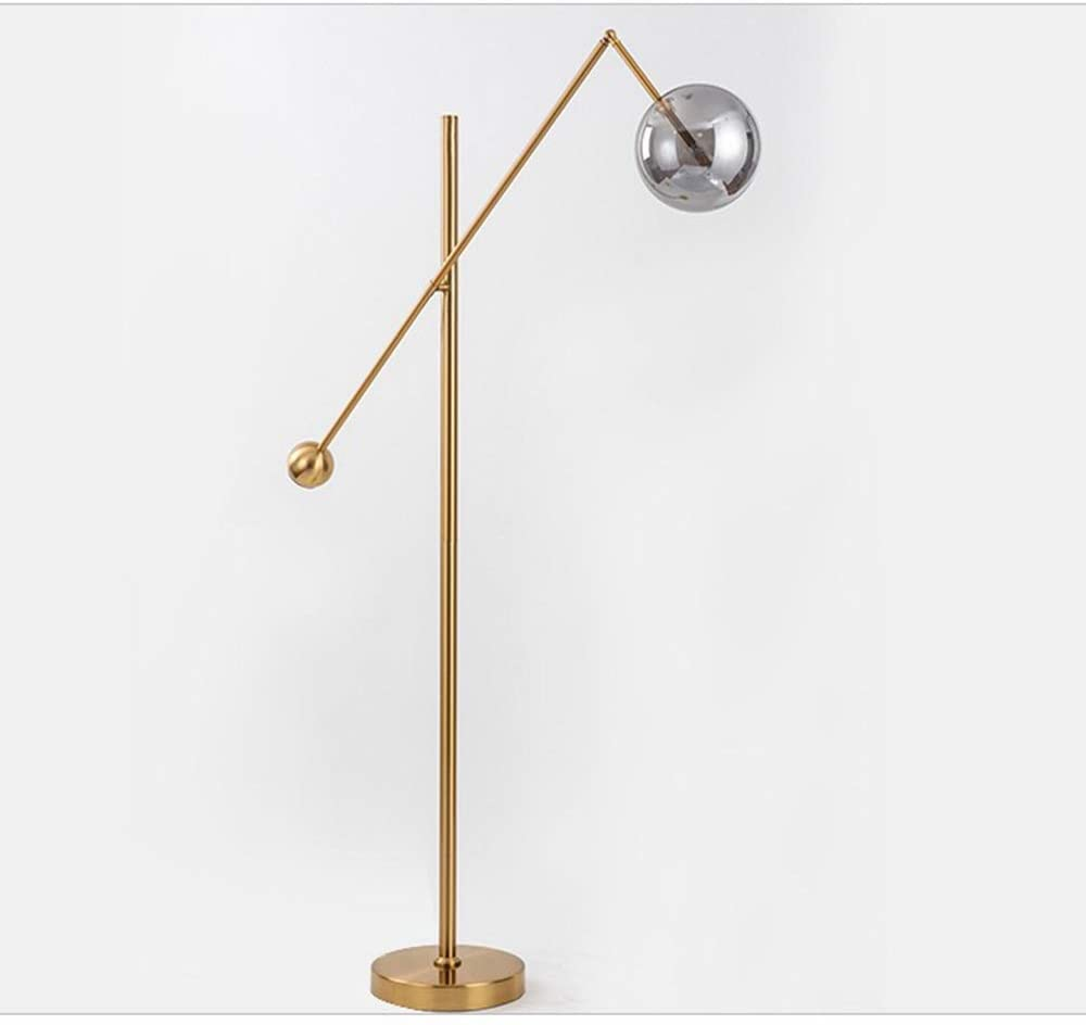 Mihaojianbing Well-Made Personality Creative Study Glass Ball Model Room American Style Simple Bedroom Bedside Table Lamp No stroboscopic