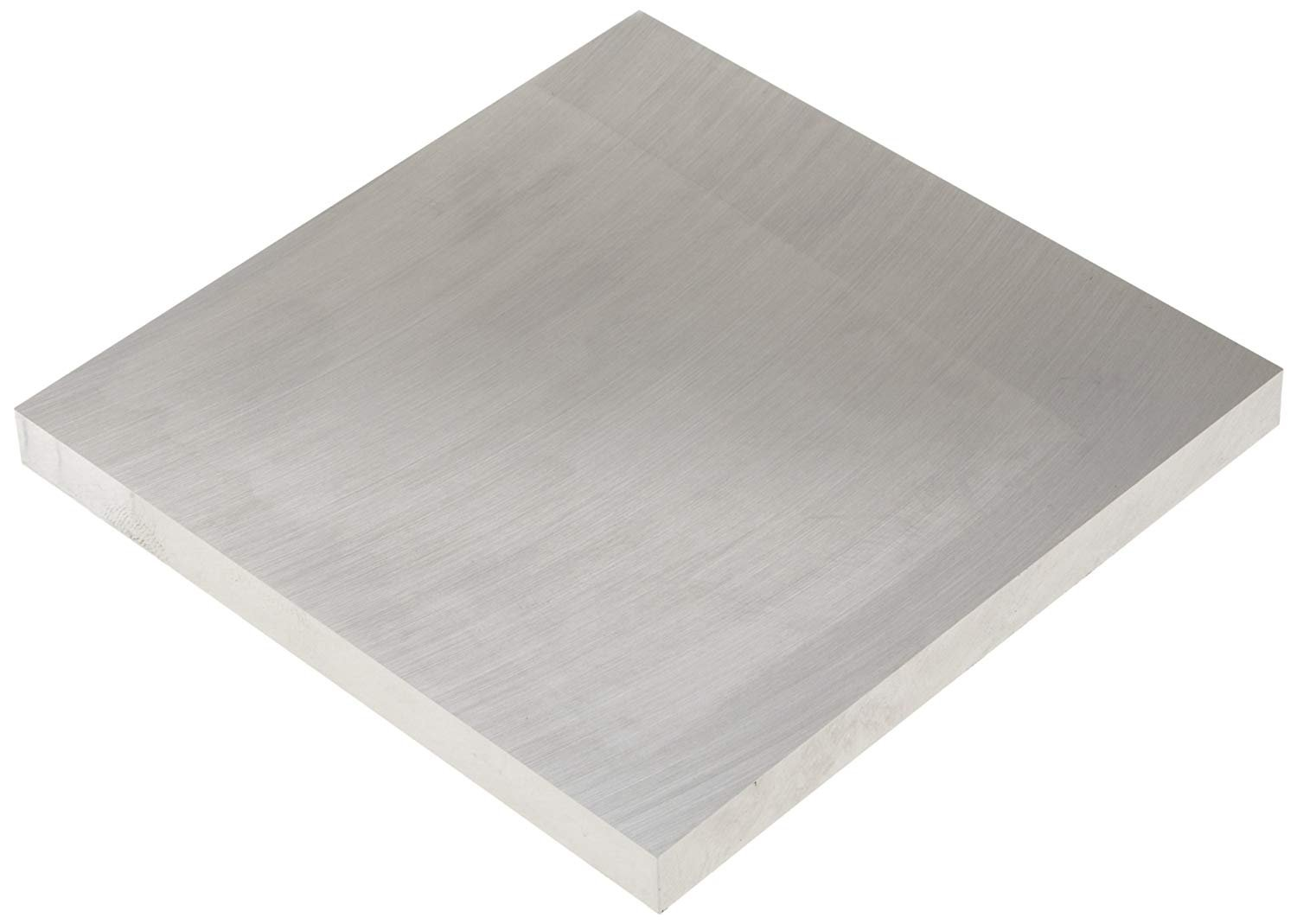 Precision Ground and Milled Plate 2.000 X 3.000 X 6.000 6061-T651 Aluminum