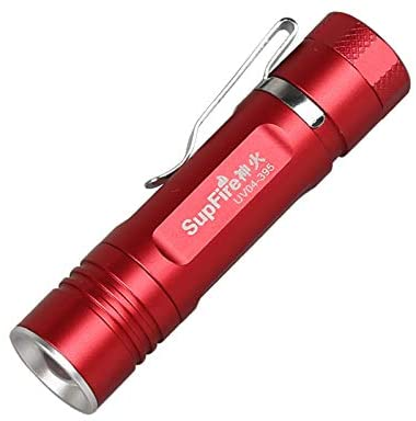 SupFire UV 395nm Flashlight Christmas gift Cash Testing Anti-fake LED Fluorescence Detection Flashlight UV04