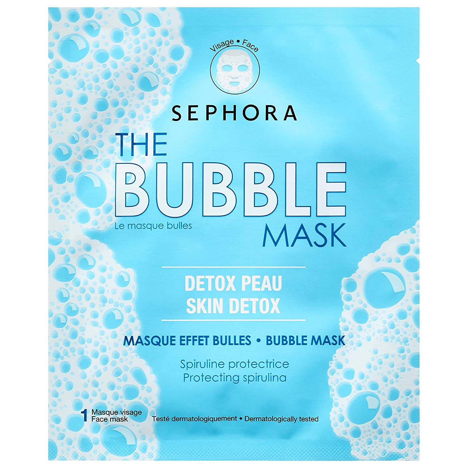 SEPHORA COLLECTION SUPERMASK - The Bubble Mask