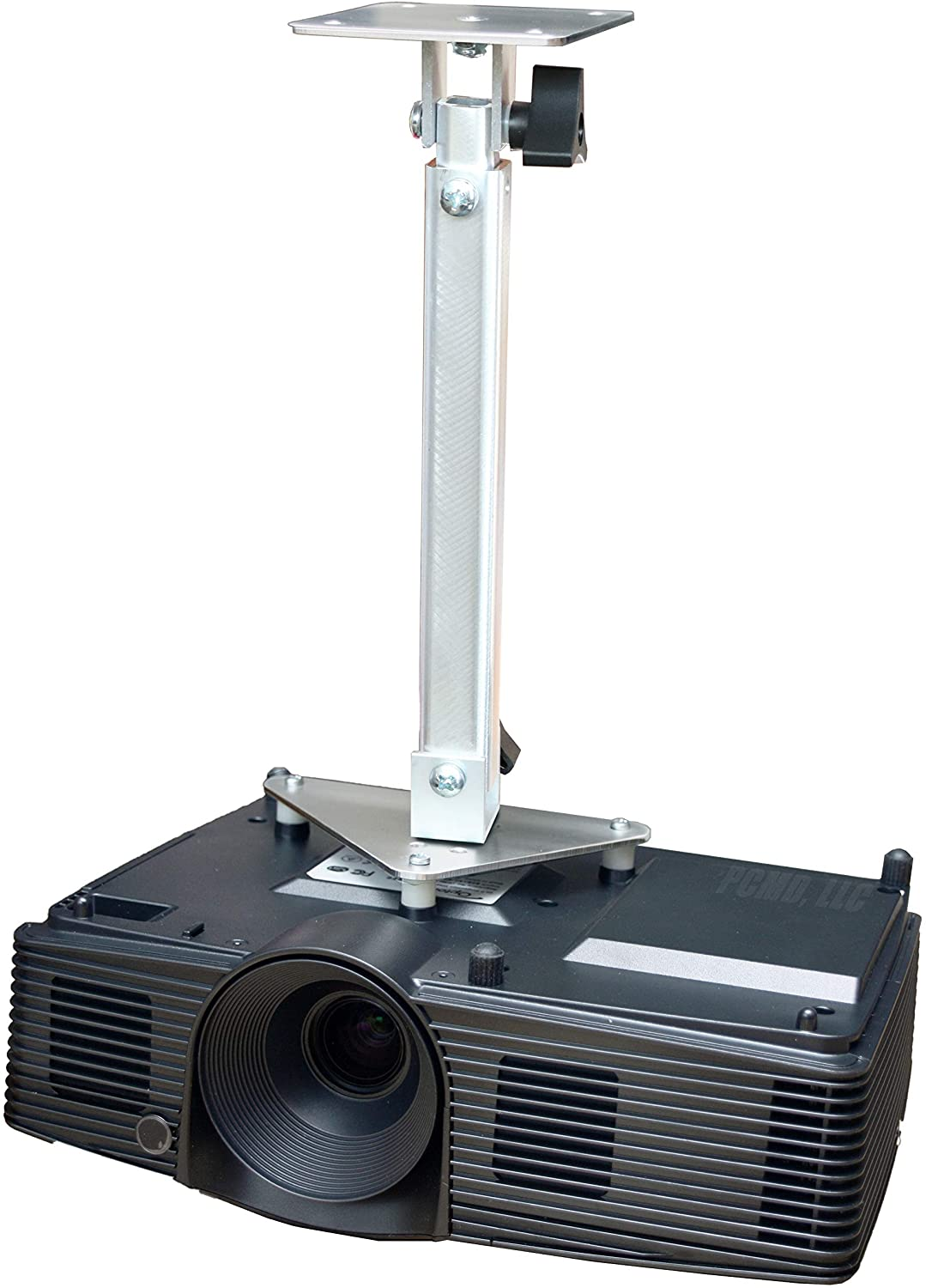 PCMD, LLC. Projector Ceiling Mount Compatible with BenQ MX604W TH550 (Telescoping 13-20-Inch Extension)