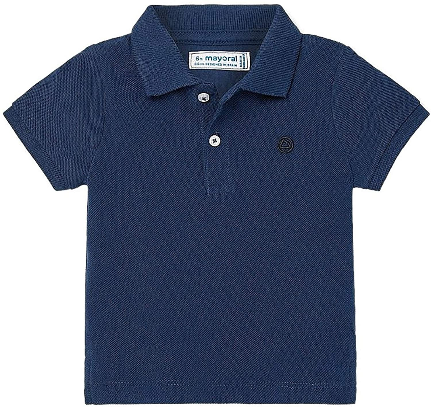 Mayoral - Basic s/s Polo for Baby-Boys - 0102, Sapphire