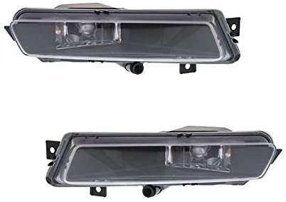Rareelectrical NEW FOG LIGHT PAIR COMPATIBLE WITH BMW 130I 2006-2010 63-17-7-164-856 63177164856 63177164855 63 17 7 164 856 63-17-7-164-855 BM2593134