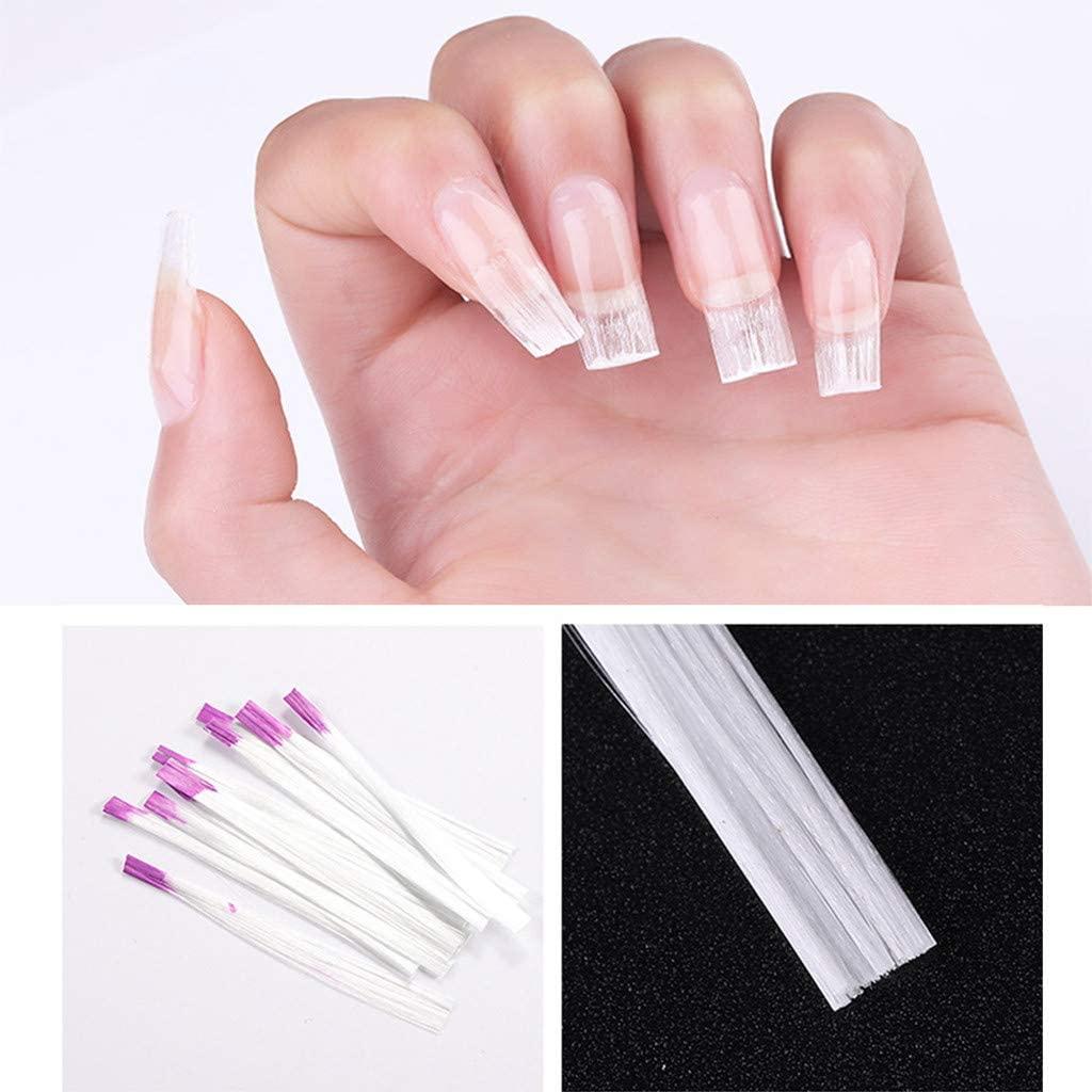 nightfall Fiberglass Nail Wrap Nail Silk Wrap Strong Nail Protector for UV Gel Acrylic Nails Self Adhesive Fiberglass & Silk Wrap Nail Art Tool
