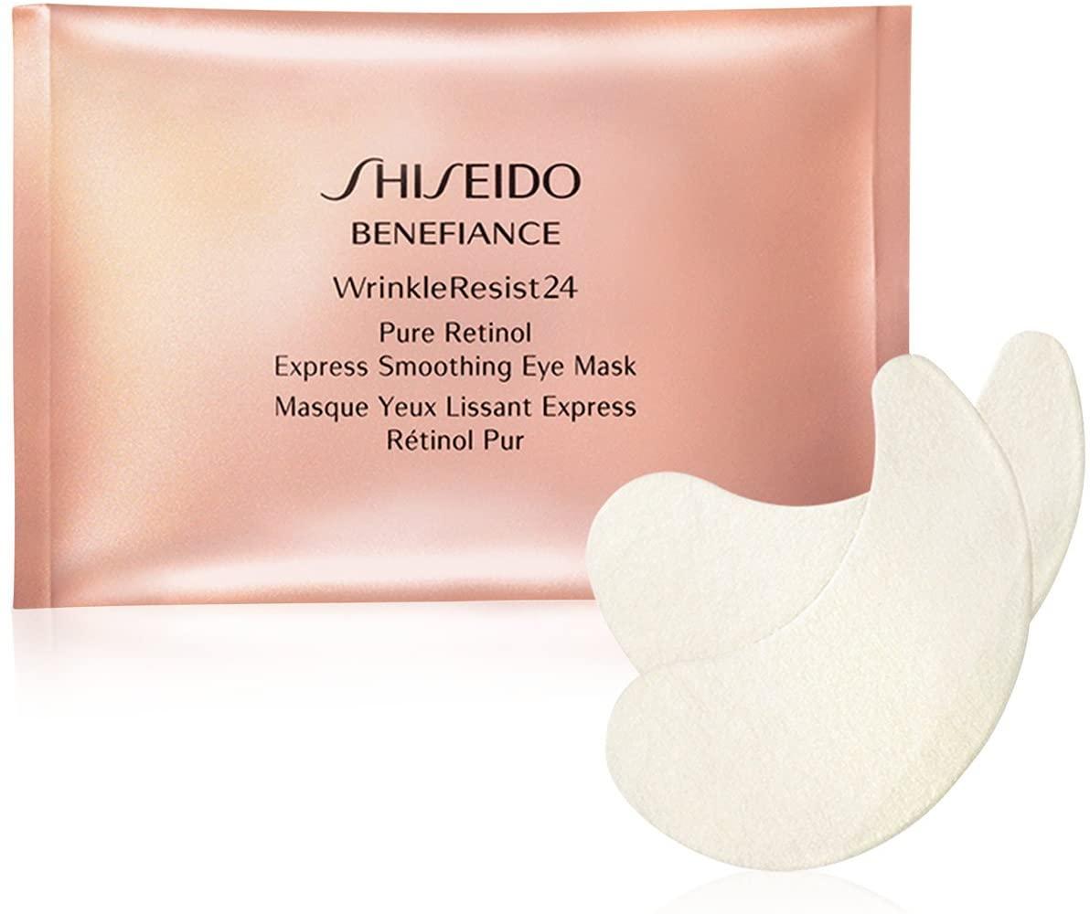 Shiseido Benefiance Wrinkleresist24 Pure Retinol Express Smoothing Eye Mask 12 packettes